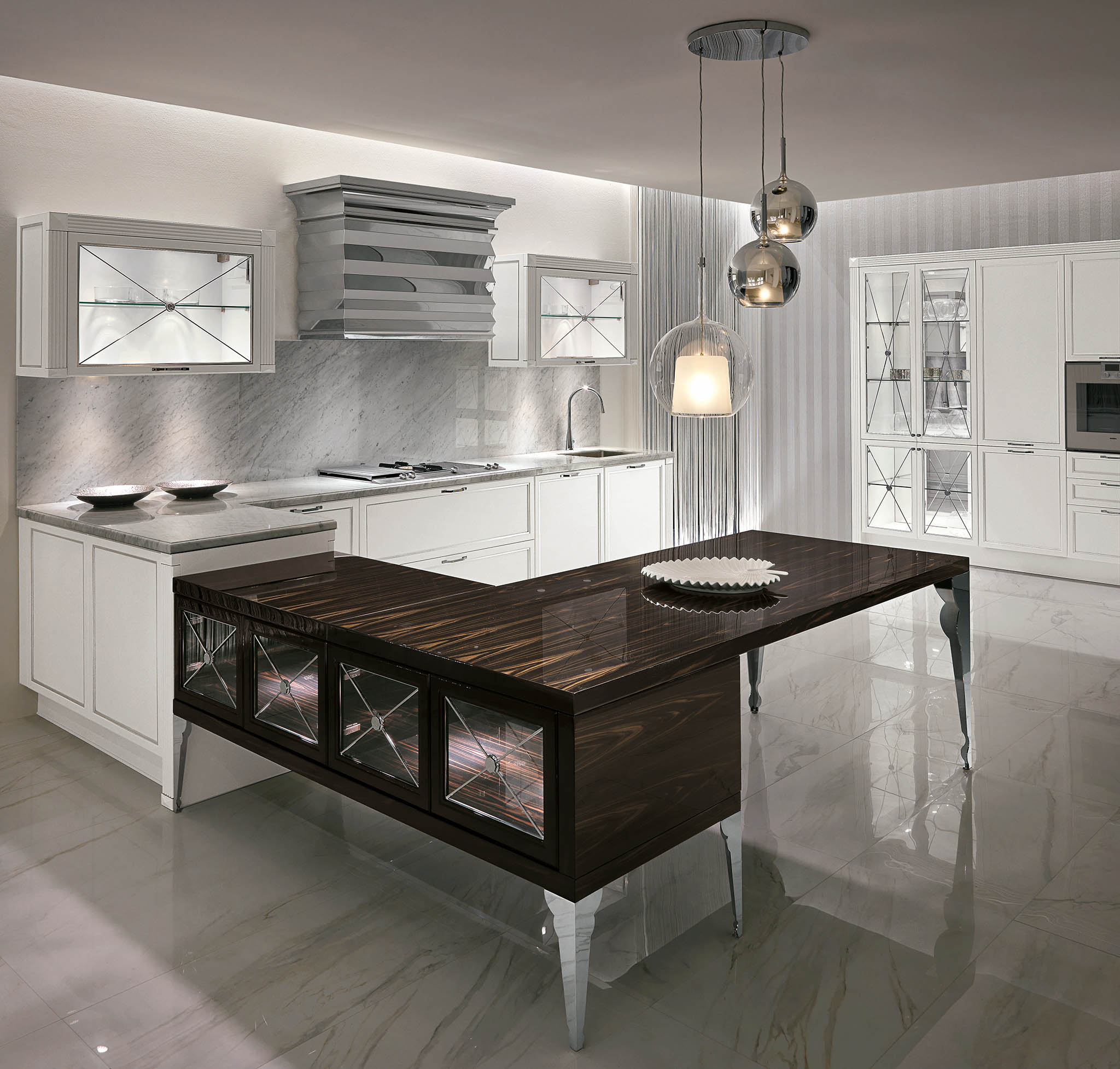 Кухня Luxury 04 Glam фабрика Aster cucine
