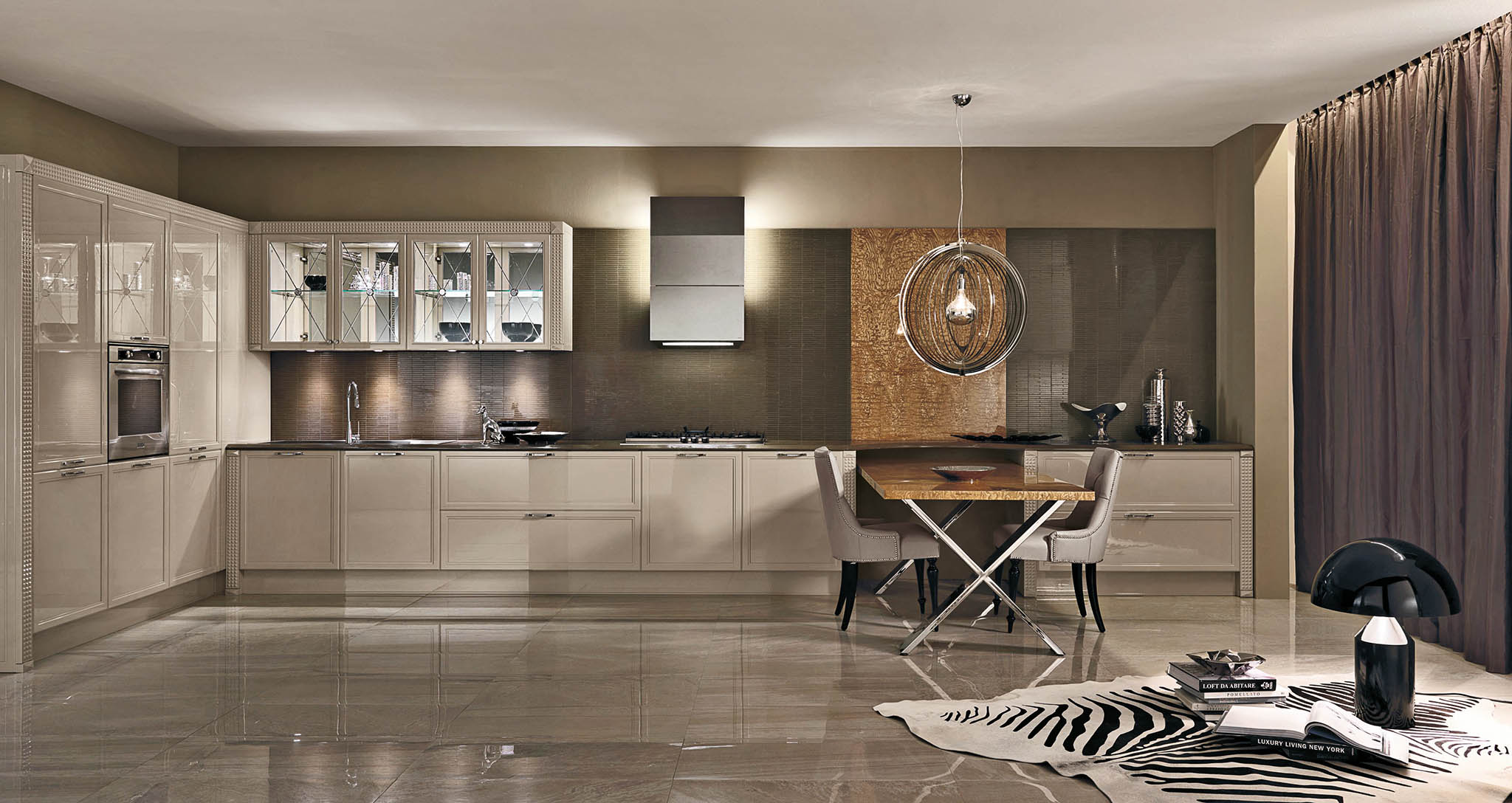 Кухня Luxury 02 Glam фабрика Aster cucine